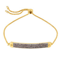 Luxe Elements Plaque Slider Bracelet