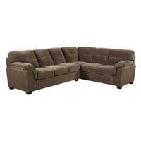 Contemporary Padded Microdenier 2 Piece Sectional | Overstock.com Shopping - The Best Deals on Sectional Sofas