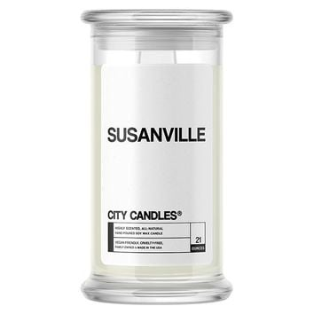 Susanville City Candle