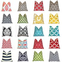 HGTV Featured Pillow Covers - 48 NEW fabrics!
