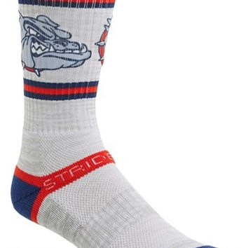 Men's STRIDELINE 'Gonzaga' Socks - Grey