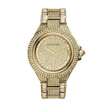 MDIG2JE Michael Kors Women's Camille Gold-Tone Watch MK5720