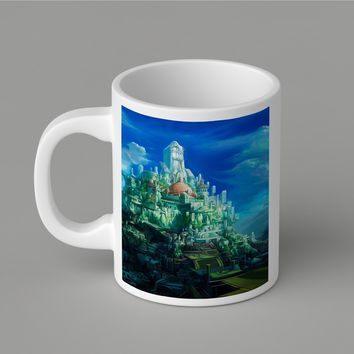 Gift Mugs | Epic Fantasy Tower Castle Ceramic Coffee Mugs