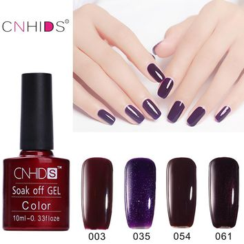 CNHIDS  Best Selling 7.5 ml UV Gel Nail Polish Color Nail Gel Polish Vernis Semi Permanent Nail Primer Gel Varnishes Gel polish