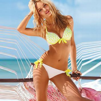 Beach Hot Swimsuit Summer New Arrival With Steel Wire Swimwear Bottom & Top Ladies Sexy Bikini [11173142228]