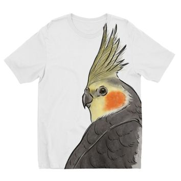 Cockatiel Designs by Amitie Kids Sublimation TShirt