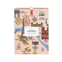 2016 Cities Wall Calendar by RIFLE PAPER Co. | Made in USA