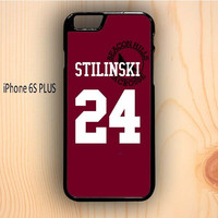 Dream colorful Teen Wolf Stilinski Lacrosse Jersey iPhone 6S Plus Case