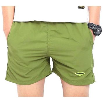 Anti-UV Men Basic Beach Shorts