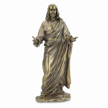 Jesus With Open Arms Statue