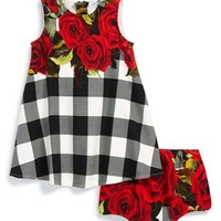 Infant Girl's Dolce&Gabbana Sleeveless Dress & Bloomers