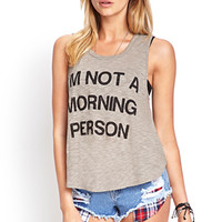 Morning Person Tank