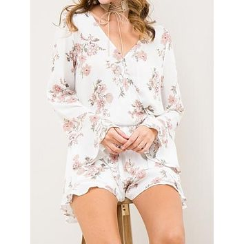 Sunset Blvd Romper