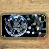 VW Volkswagen Car Logo iPhone 5, 5s, 5c, 4s, 4, ipod touch 4, 5, Samsung GS3 GS4-Silicone Rubber, Hard Plastic cover