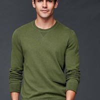 Cotton crew sweater | Gap