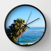Paradise Wall Clock by Susaleena | Society6
