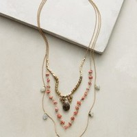 Semele Layer Necklace by Anthropologie in Gold Size: One Size Necklaces