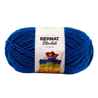 Bernat Blanket Brights Yarn Royal Blue 150 Gram Skeins