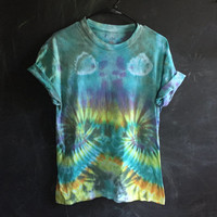 READY TO SHIP! tie dye tee - medium