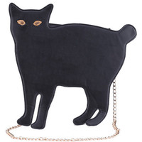 ROMWE | Cat-shaped Black Bag, The Latest Street Fashion