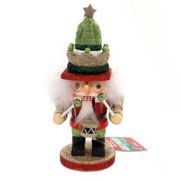 Christmas HOLLYWOOD NUTCRACKERS Wood Holiday Whimsical Ha0422 Crown