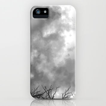 Grey Skies iPhone & iPod Case by Anchor Eight