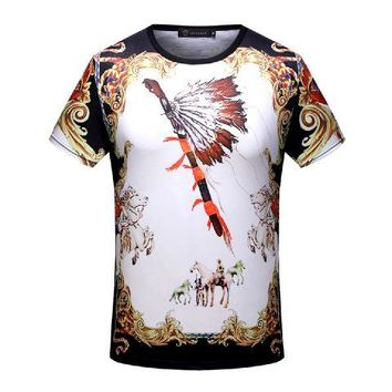 Versace  T-Shirt Top Tee