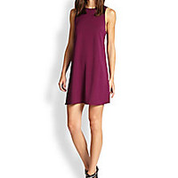 Alice + Olivia - Back-Cutout A-Line Dress - Saks Fifth Avenue Mobile