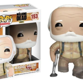 Funko - Walking Dead Hershel Pop! Vinyl Figure #153 Vinyl Action Figure