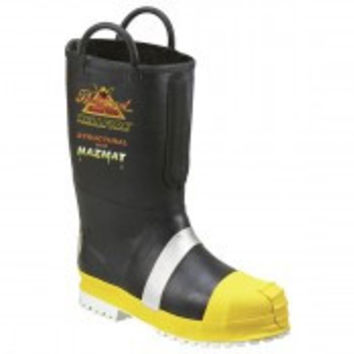Thorogood Rubber Light Insulated Fire Boots with Calendered Sole /Botas