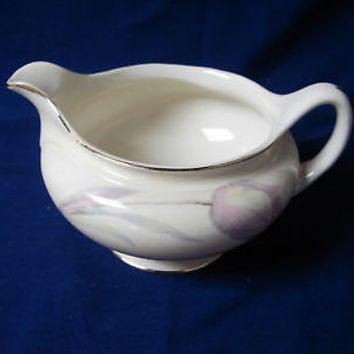 Homer Laughlin China Dinnerware Eggshell Nautilus #N1594 Tulip Creamer