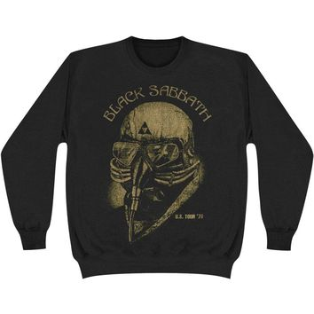Black Sabbath Men's  US 79 Tour Sweatshirt Black