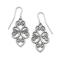 Jubilant Heart Ear Hooks | James Avery