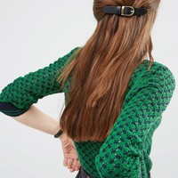 Limited Edition Buckle Hair Barrette