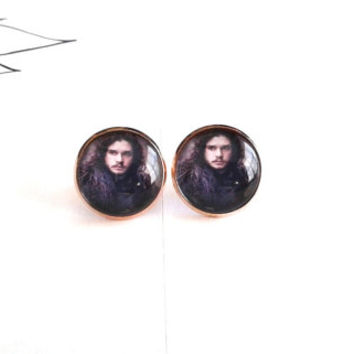 ON SALE - Made To Order - Game Of Thrones Jon Snow Earrings
