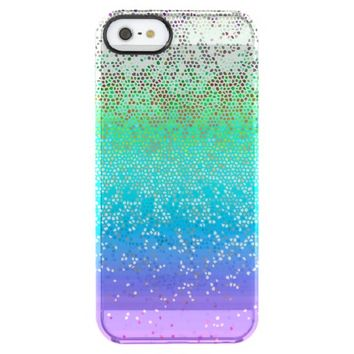iPhone 5/5s Case Glitter Star Dust Uncommon Clearly™ Deflector iPhone 5 Case