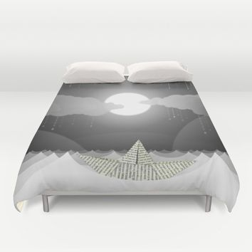 Dream Sea Duvet Cover by Dood_L