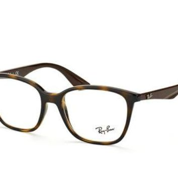 Glasses vista Ray-Ban RX7066 5577HAVANA GLOSS Cal.52