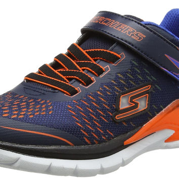 Skechers Kids Erupters II Lava Arc Light Up Sneaker (Little Kid/Toddler) Navy/Orange Little Kid (4-8 Years) 1 Little Kid M '