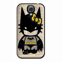 Hello Kitty Batman Custom Poster Samsung Galaxy S4 Case