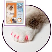 Soft Claws for Cats - CLS (Cleat Lock System), Size Medium, Color Pink