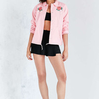 OBEY Spider Rose Coach Jacket - Urban Outfitters