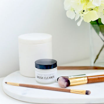 BRUSH CLEANER // Solid Cosmetic Brush Cleansing Balm  - - - Vegan ∙ Organic ∙ 100% Natural