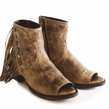 Double D Ranch Boots - Seally Tan