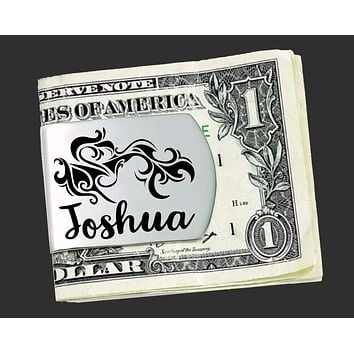 Personalized Tribal Money Clips | Groomsmen Gifts | Best Man Gifts