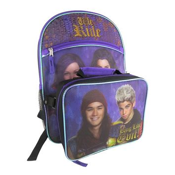 Disney's Descendants Backpack & Lunch Bag Set - Kids (Blue)