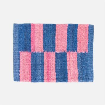 Doli Indoor Door Mat - Blue & Pink