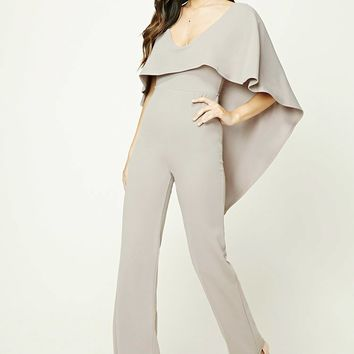 Flounce Layer Jumpsuit