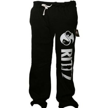 Rittz - Black Logo Sweat Pants Strange Music, Inc Store