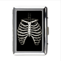 Rib Cage Money/card/cigarette case printed on both sides